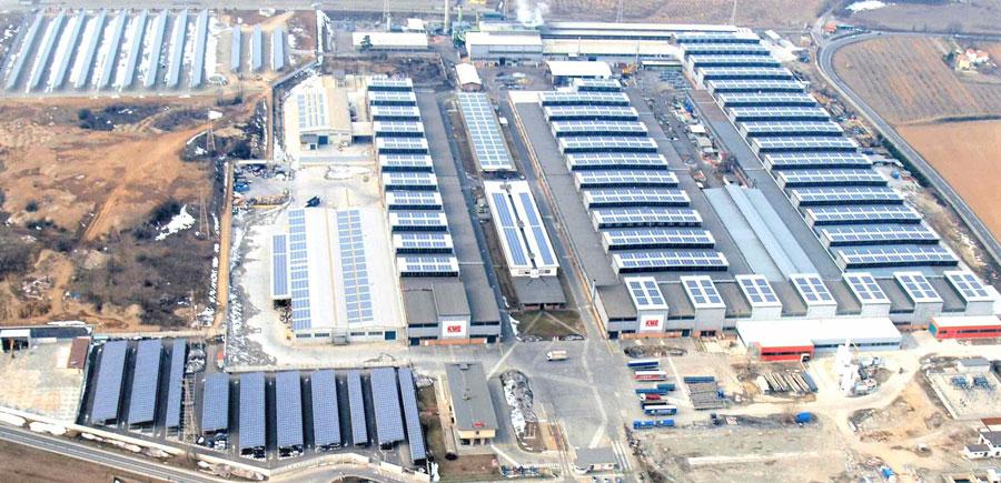 KME photovoltaic plant in Serravalle Scrivia (AL)