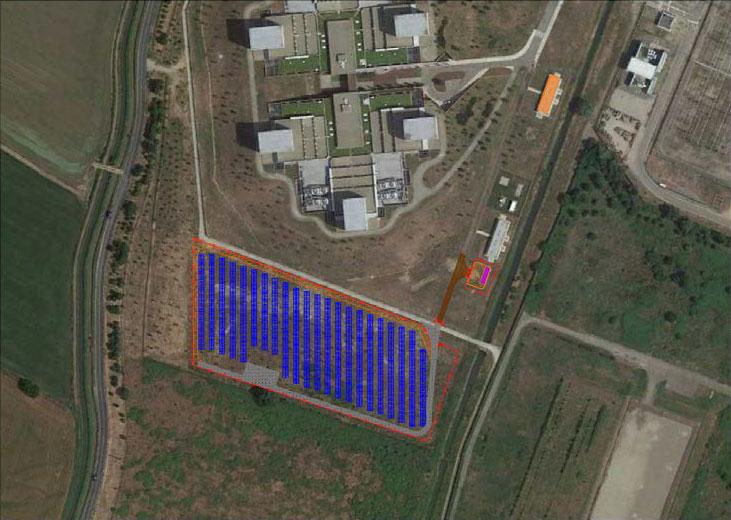 Eni Ferrera photovoltaic system