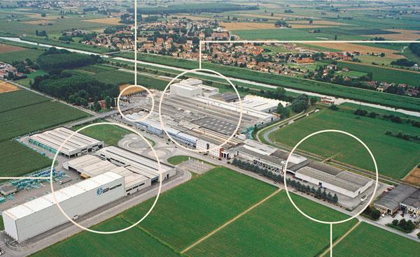 Ceramica Sant'Agostino – Seismic upgrading of warehouses