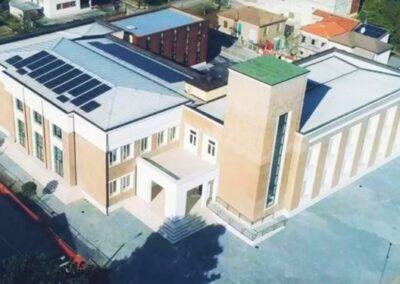 Impianti nell'ambito dei lavori di ripristino e miglioramento sismico della nuova sede del municipio